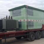 Transport stacji transformatorowej